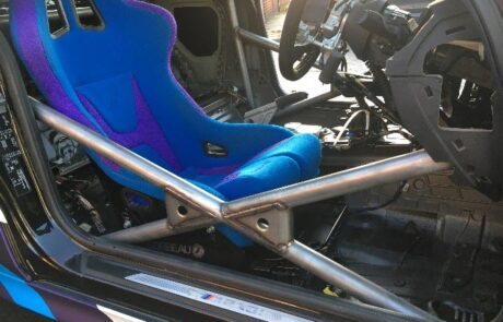 interior rally care with multypoint roll cage fitted