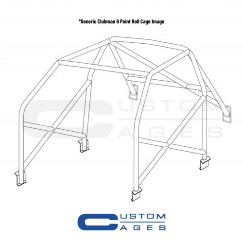 Custom Cages Clubman 6 Point Roll Cage