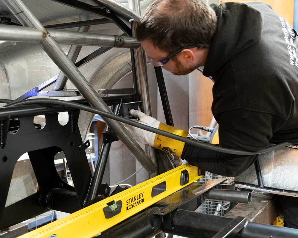 Custom Cages Roll Cage Measuring